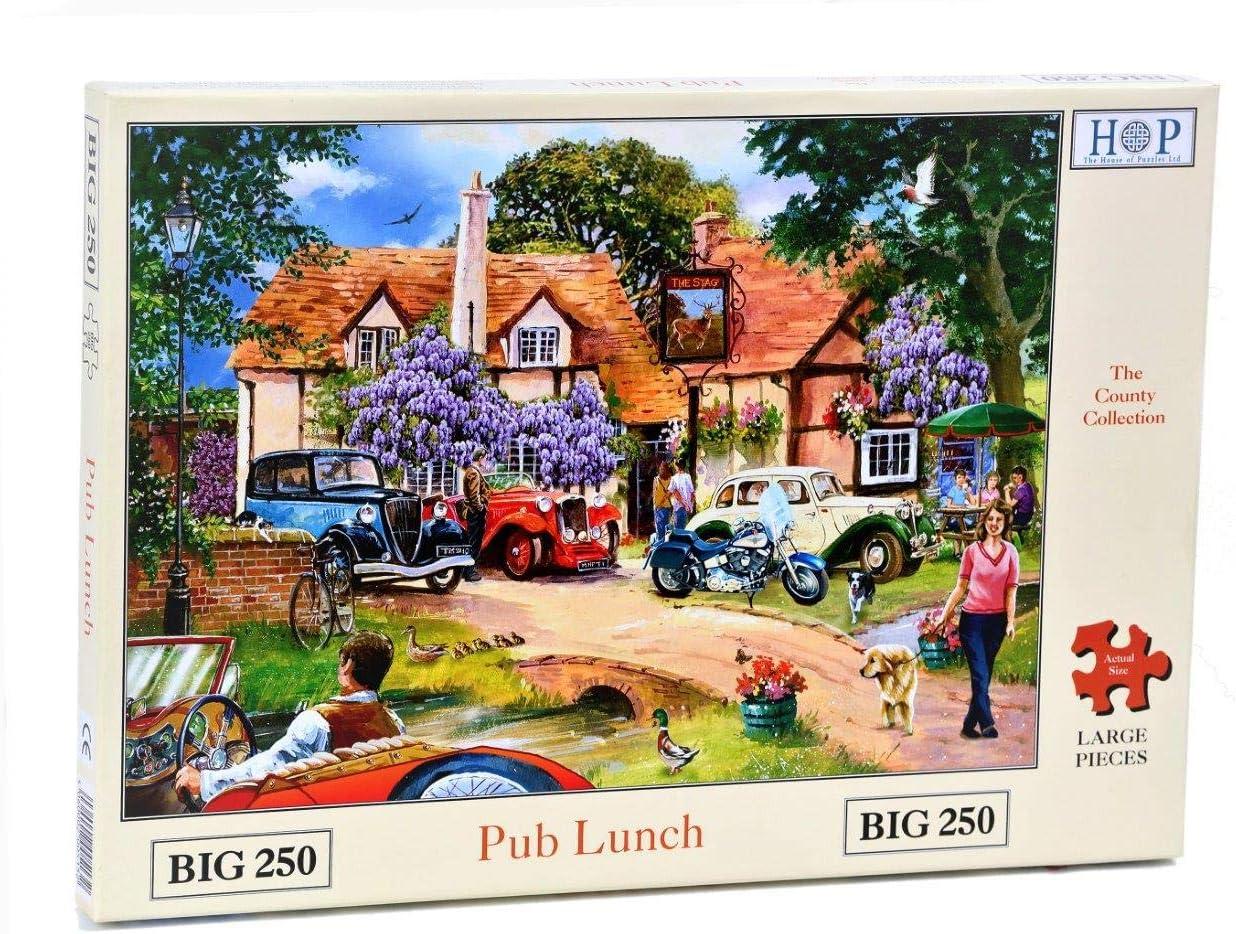 Big 250 Piece Jigsaw Puzzle Keeping