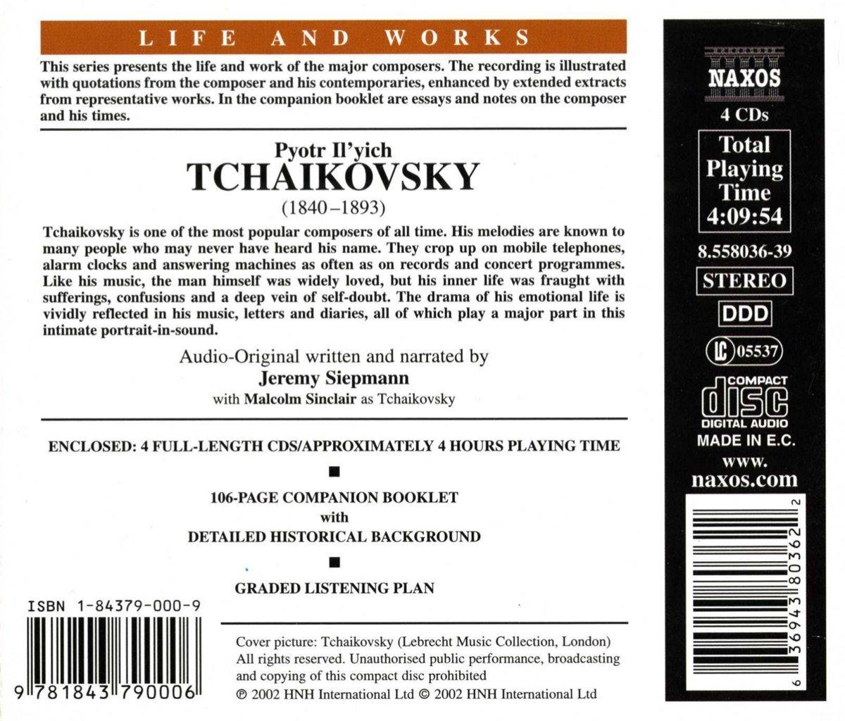 Life & Works of Tchaikovsky by Naxos Educational