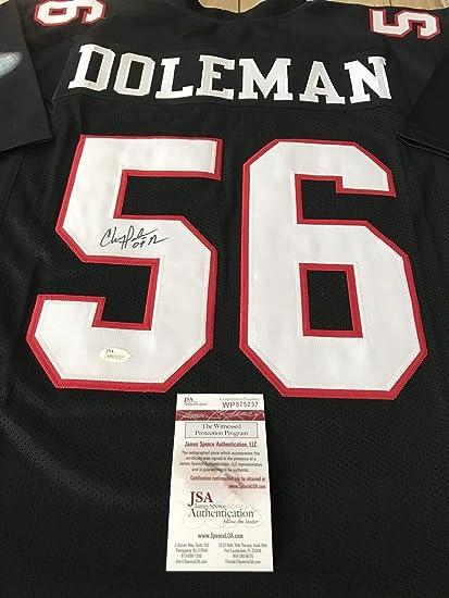detailed look a6c4d 07bf2 Chris Doleman Autographed Signed Jersey Memorabilia - JSA ...