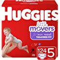 Huggies Little Movers Diapers (sizes 3 to 6) from $16.81