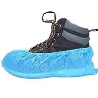"""100 cubiertas de zapato desechables """"Simply Direct"""". Suelo, alfombra, protectores de zapatos CPE 2.5g x 100. Grabado. Uso ligero a medio"""