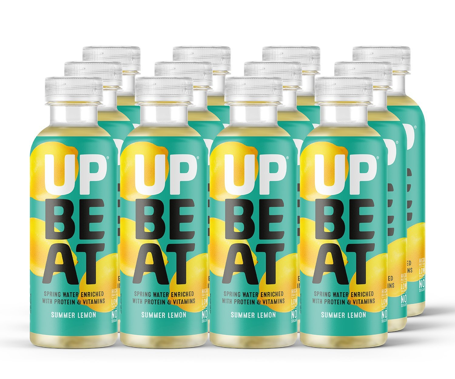 Image result for upbeat protein water