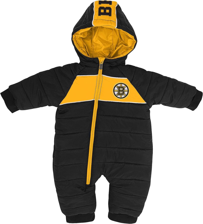 Boston Bruins Infant Puck Drop Puffer Bodysuit
