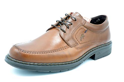 Fluchos 9482 Clipper/Brezza Camel - Zapato de Invierno con Cordones, para Hombre (