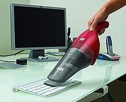 Black+Decker Aspirador de Pó e Água - Bivolt/Bateria Litio 3.6V, Vermelha