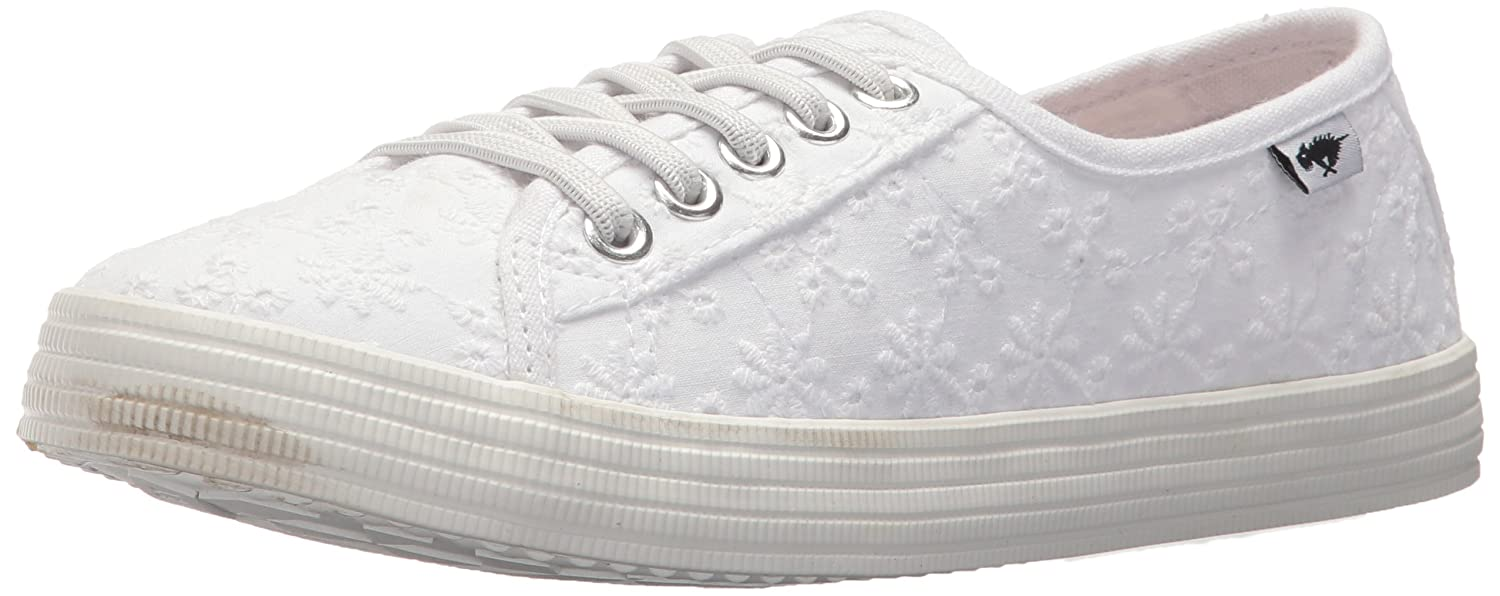 Rocket Dog Women's Chowchow Lucky Eyelet Cotton Sneaker B076T4Z5XX 6.5 B(M) US|White