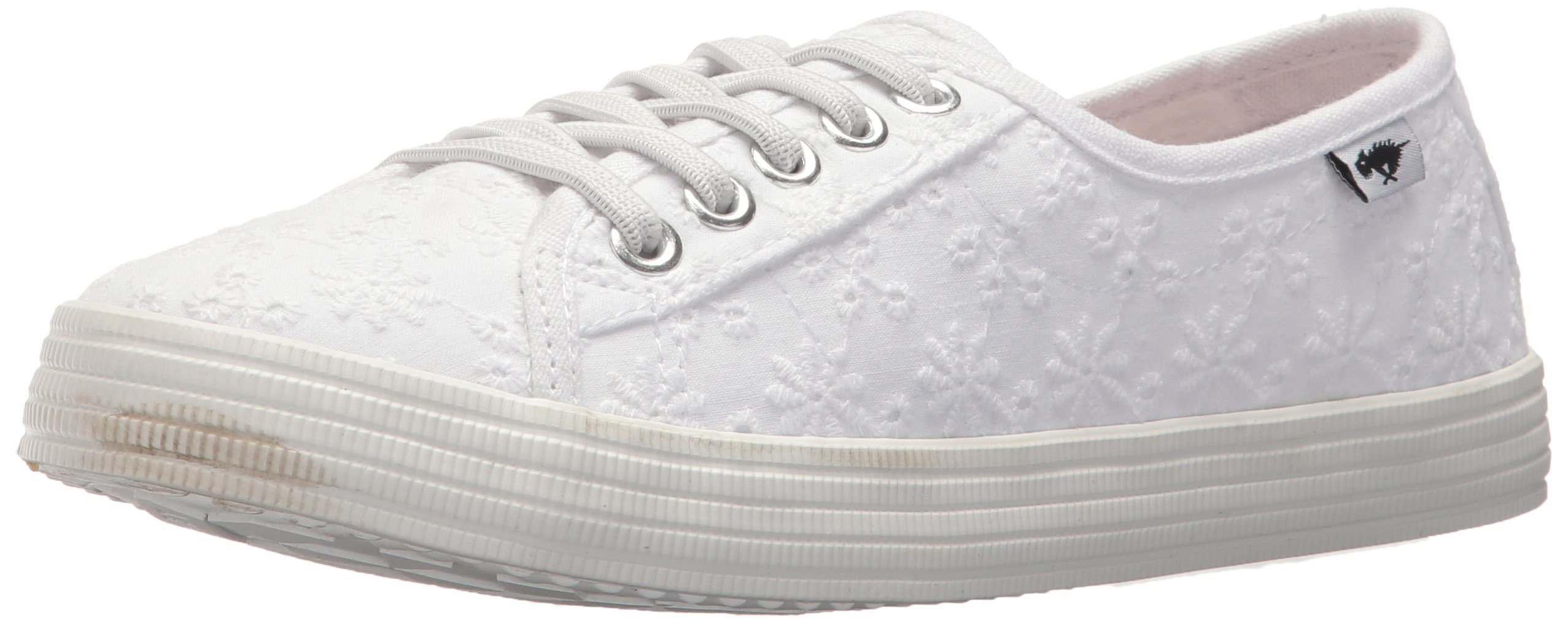 Rocket Dog Women's Chowchow Lucky Eyelet Cotton Sneaker, White, 9.5 Medium US by Rocket Dog (Image #1)