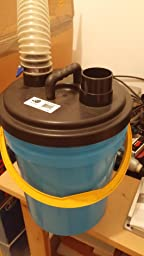 Big Horn Cyclone Separator 5 Gallon Vacuum And