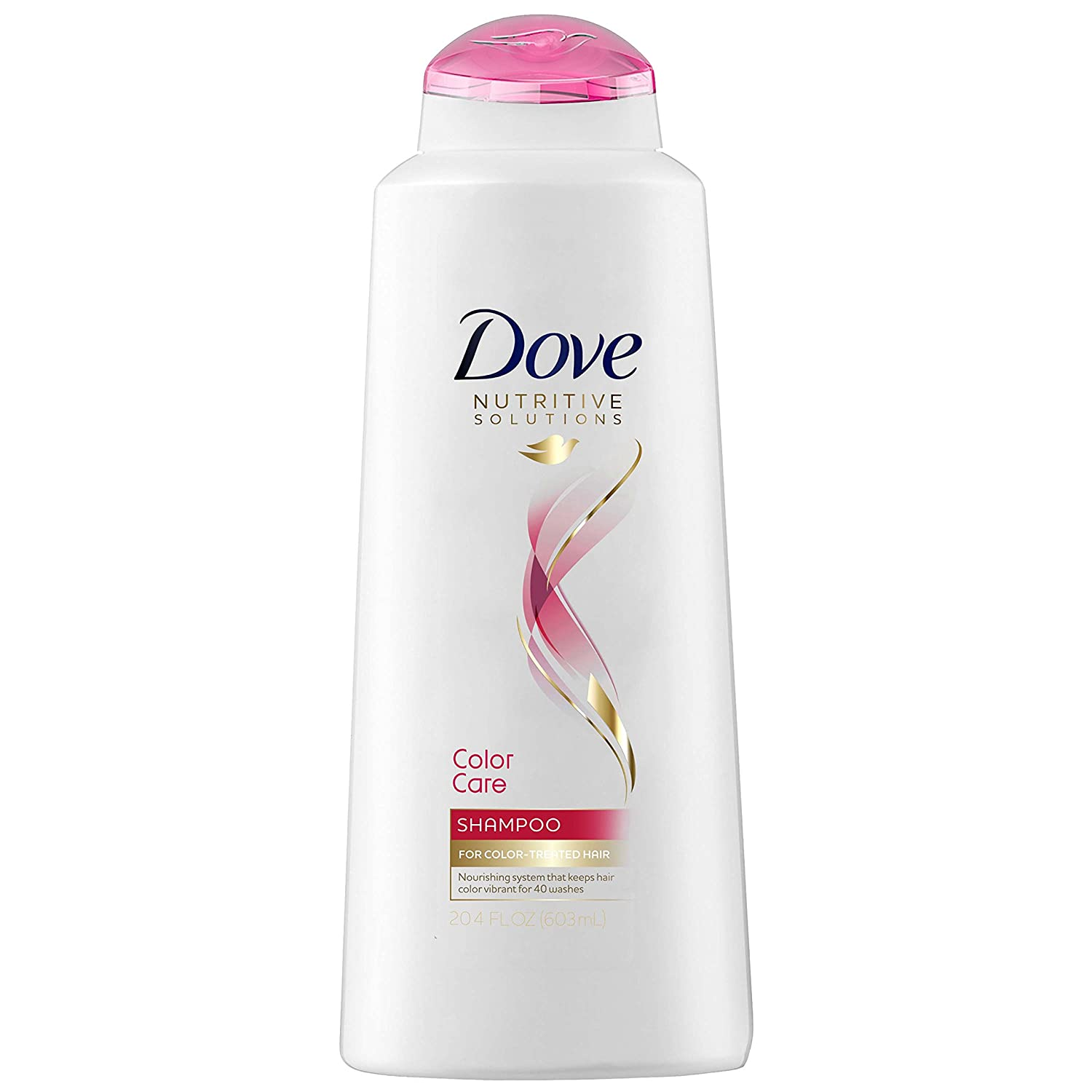 Dove Nutritive Solutions Shampoo, Color Care, 20.4 Fl Oz (Pack of 4)