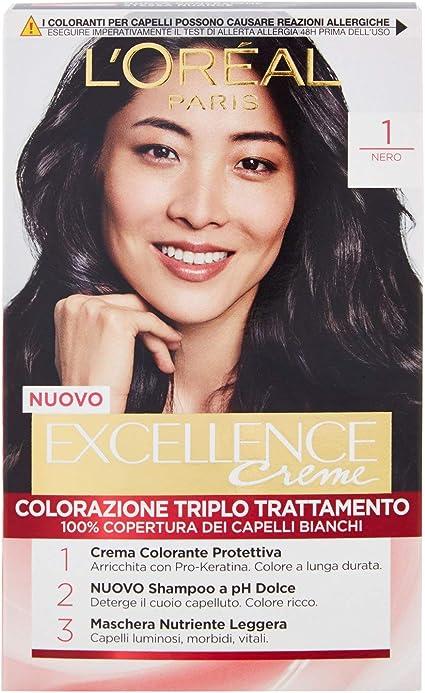 EXCELLANCE N.1 nero - Tintes para el cabello: Amazon.es: Belleza