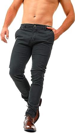 Instinct Pantaloni Classici Uomo Eleganti Chino Tasca America