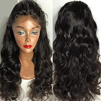 Remeehi Quality Beauty Wave Glueless Lace Human Hair Wigs Brazilian Lace Front Wig Glueless Front Lace