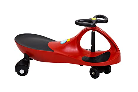 SinPilas - Bicicleta sin pedales correpasillos para niños, color rojo