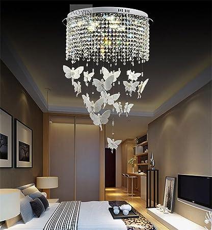WQRTT® Creativo LED Cristal Candelabro Luces Colgantes ...