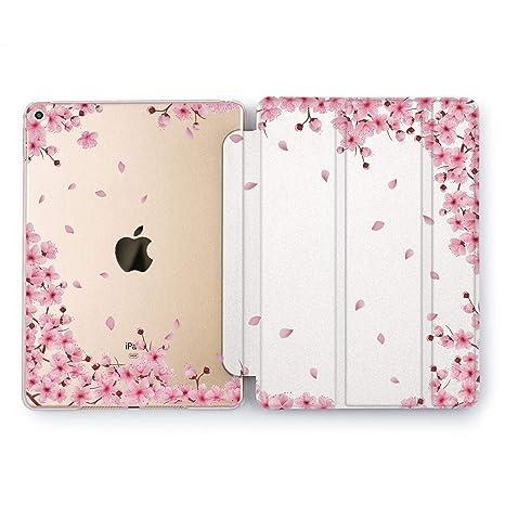 2812ded968 Wonder Wild Sakura Bloom iPad Mini 1 2 3 4 Air 2 Pro 10.5 12.9 Tablet 2018  2017 9.7 inch Fresh New Pink Gentle Smart Stand Open Summer Flower Pretty  Sweet ...