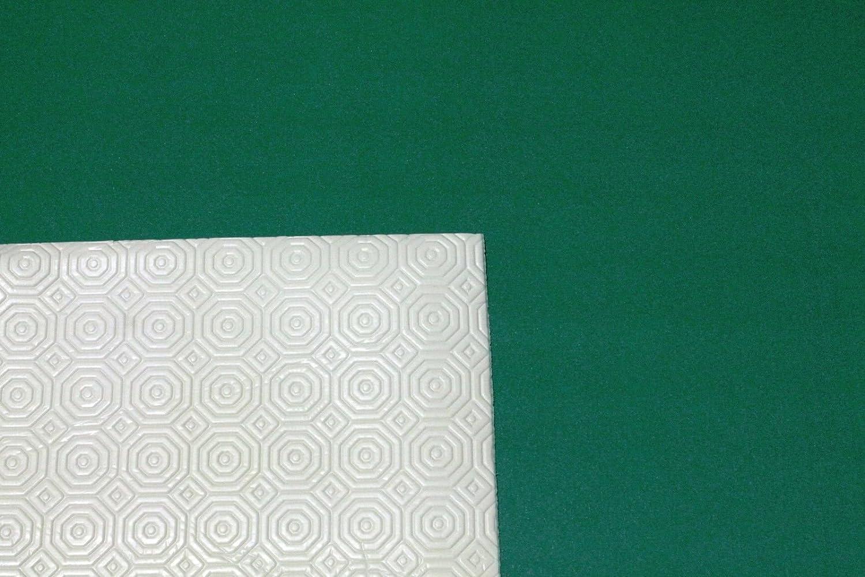 Mollettone Tovaglia Panno Rosso Verde Gommato Tavolo da Gioco Double Face-Verde-140x140