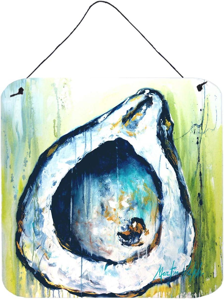 Caroline's Treasures Blue Rock Oyster Door Hanging Prints Wall-Decor, Multicolor