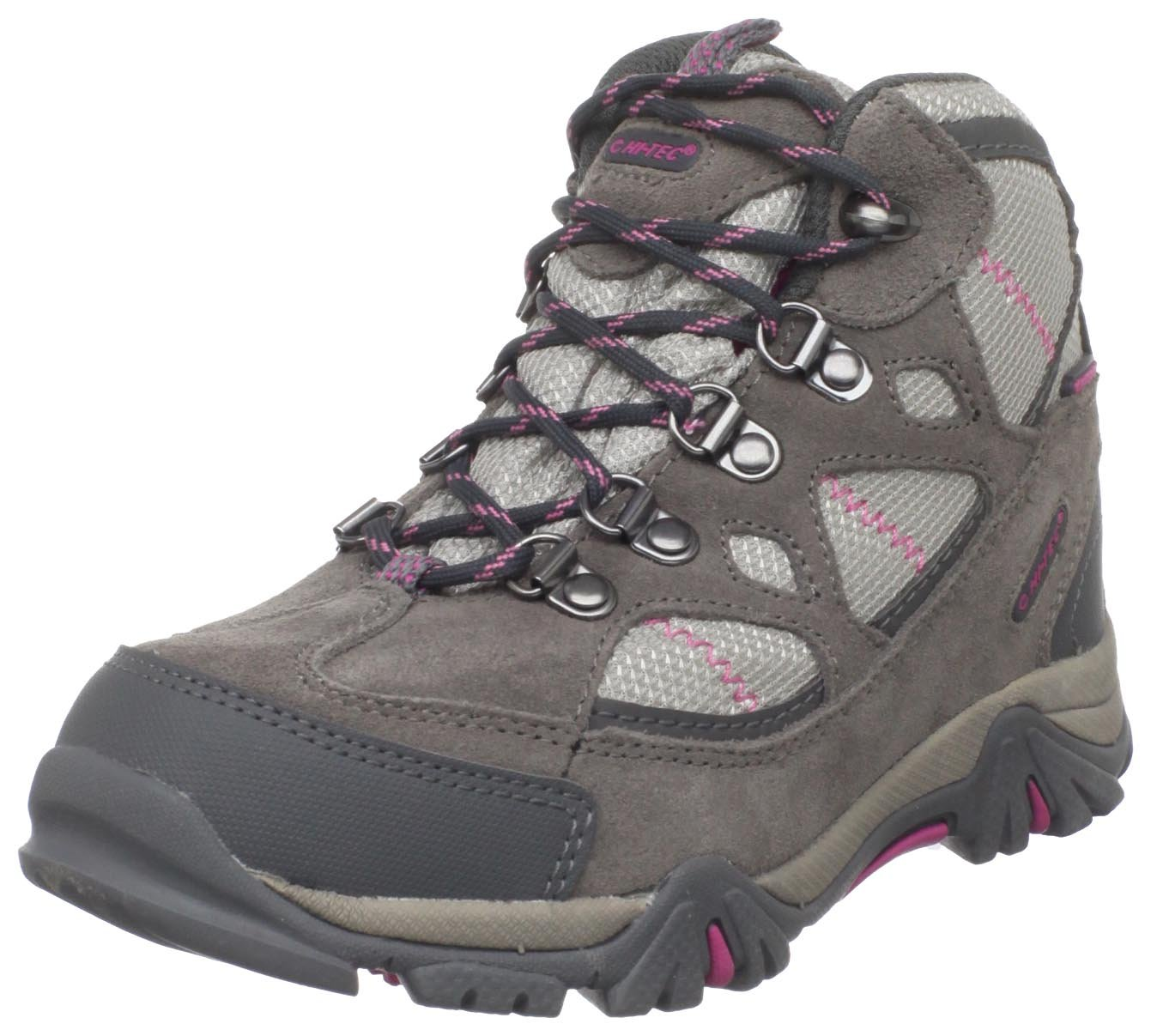 Hi-Tec Kid's Redondo Trail Boots,Gray,7 M Big Kid