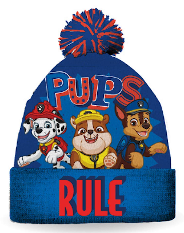 Paw Patrol Boys Winter Hat Size 4-6x Gertex