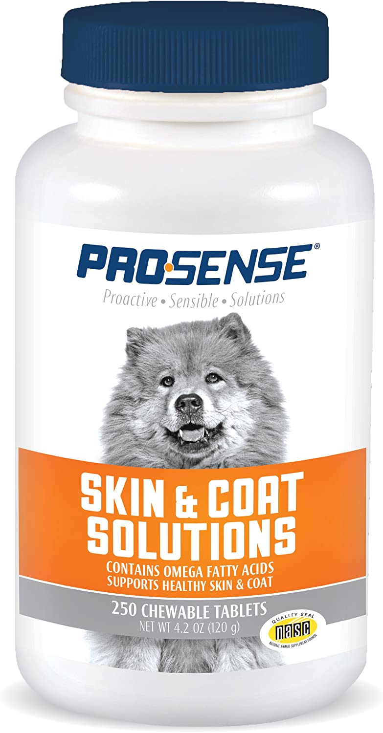 ProSense Skin and Coat Solutions, 3 Bottles (250 Tablets Each)