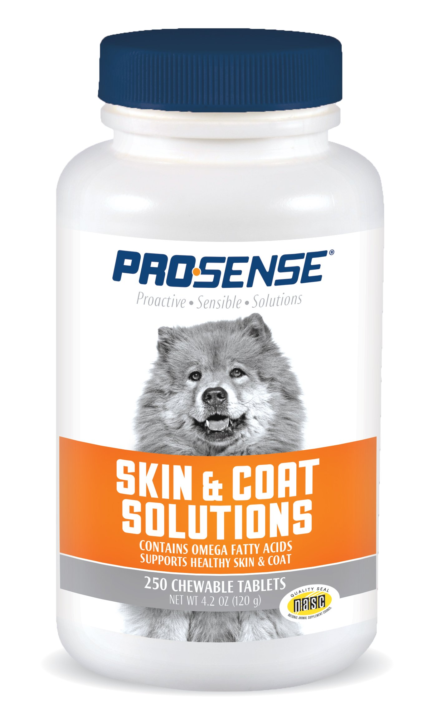 Pro-Sense Skin and Coat Solutions, 250 Tablets