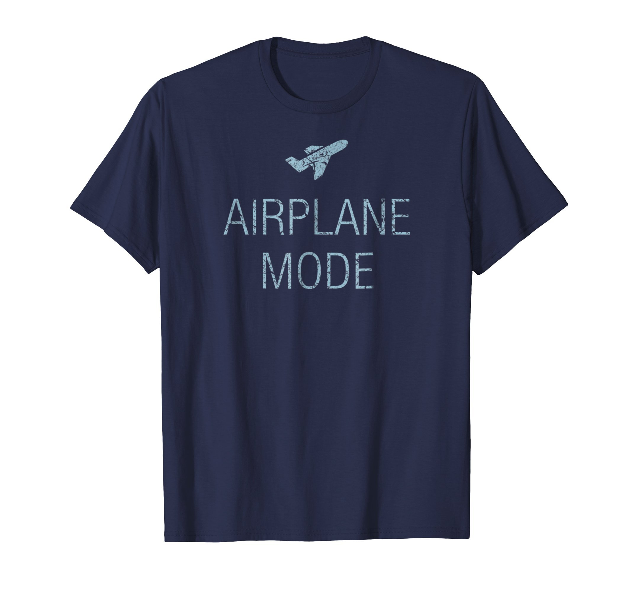 Awesome Airplane Mode T-Shirt. Travel Around the World Tee