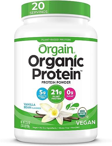 orgain orgánicos planta Base proteína en polvo, 3 Sabores, varios tamaños