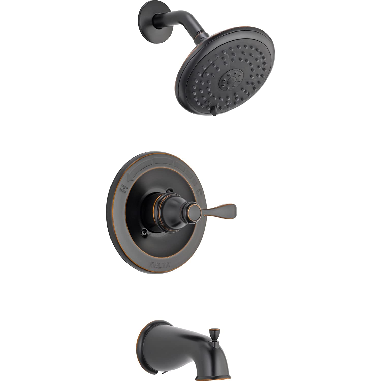 installation screw delta watch and tub valve youtube shower faucets up