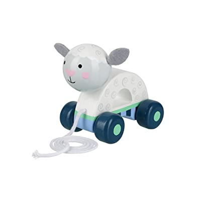 Orange Tree Toys Sheep Pull Along: Toys & Games