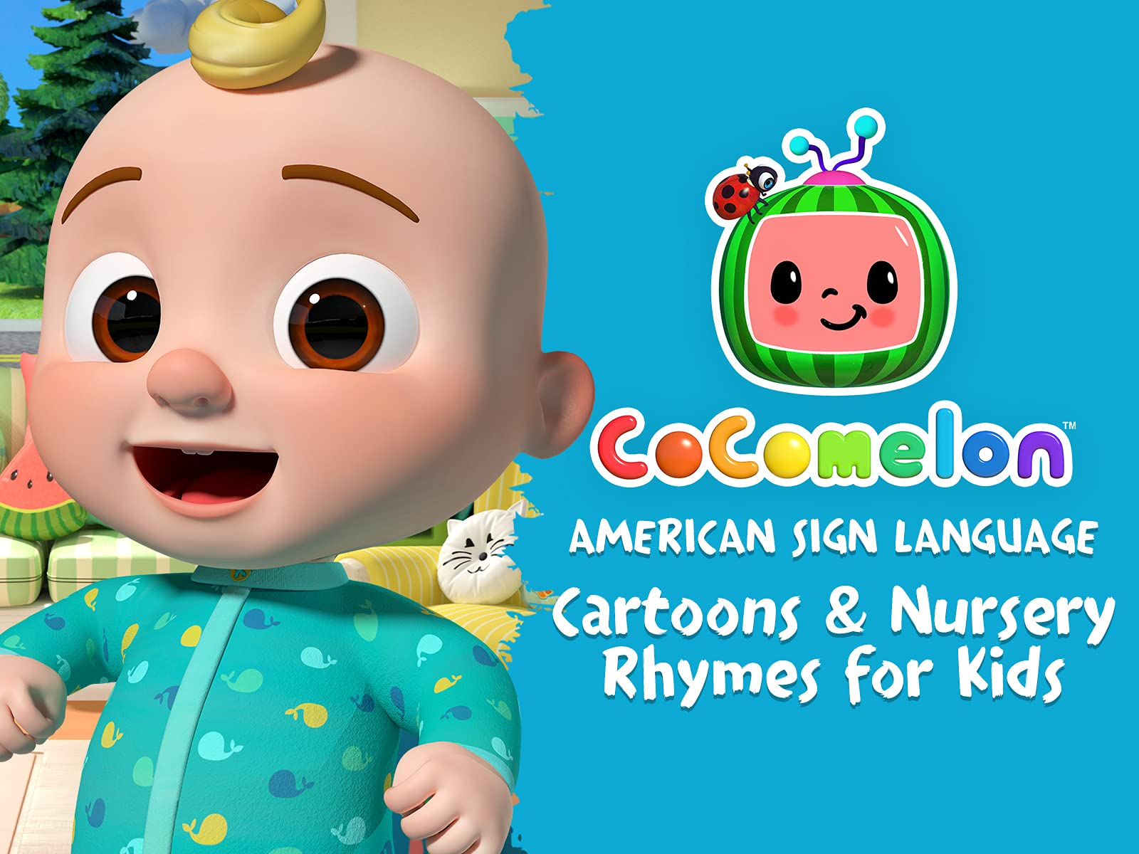 Cocomelon American Sign Language - Cartoons for Kids - Season 1