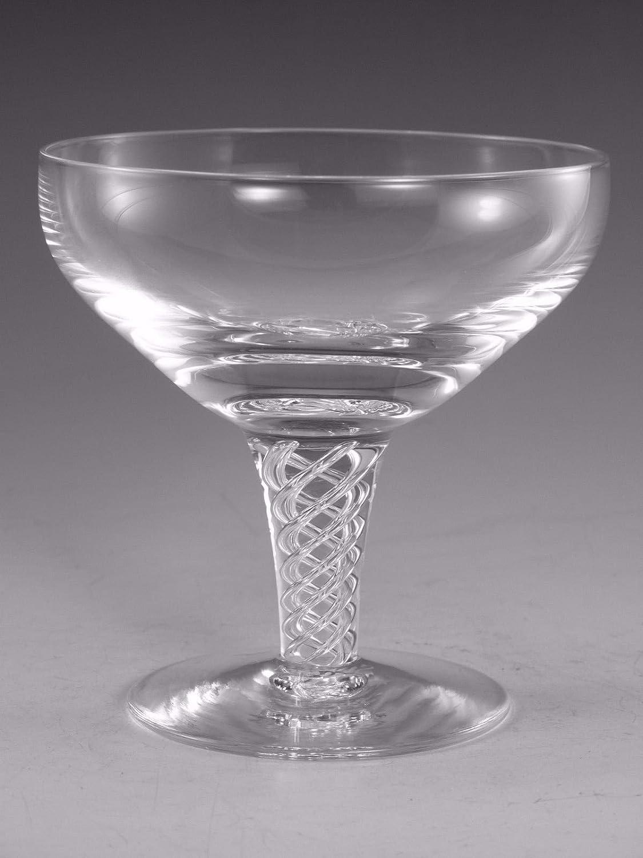 Stuart Crystal ARIEL Champagne Saucer Glass 4
