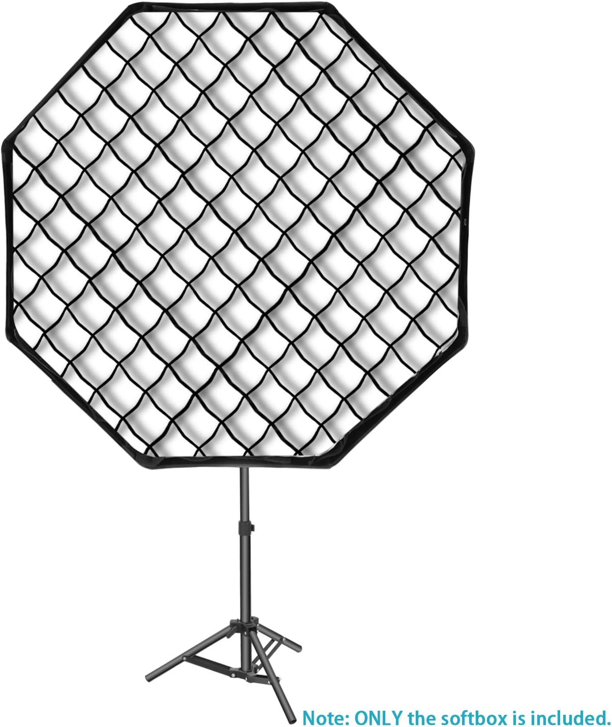 Neewer 32x32inches//80x80centimeters Octagon Flash Softbox with Grid and Bowens Mount Speedring Compatible with Nikon Canon Sony Pentax Olympus Panasonic Lumix Neewer Flash