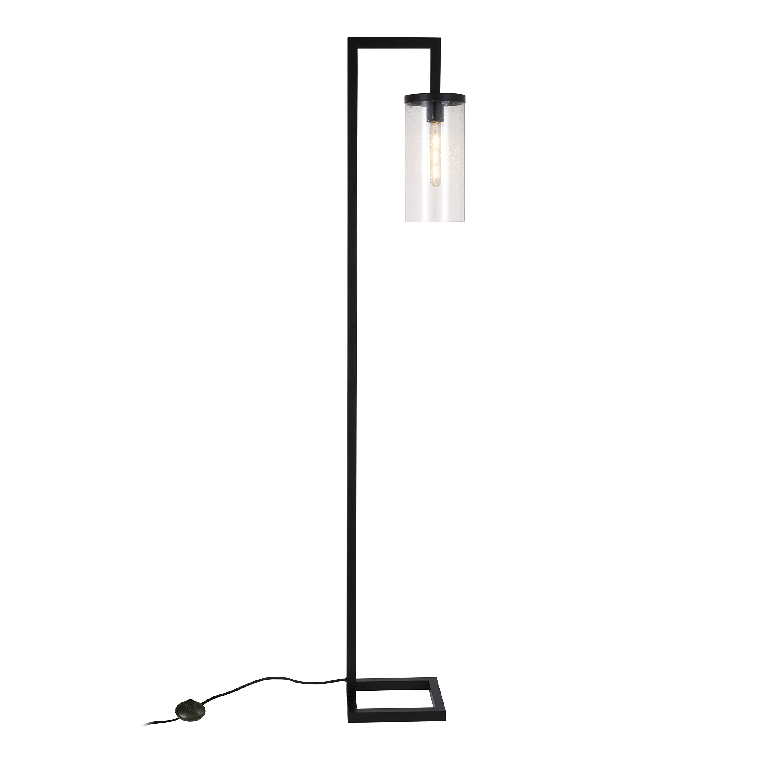 Henn&Hart FL0014 Modern Farmhouse seeded Task Lamp, One Size Black by Henn&Hart (Image #10)