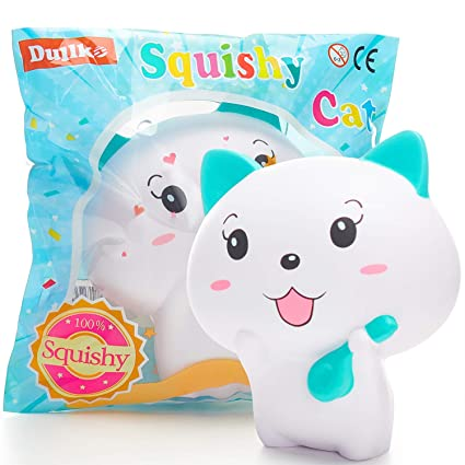 Stress Relief Toy Toys & Hobbies Furry Cat Scented Slow Rising Squishies Toy Squishes Stress Relief Toy For Kids Products Hot Sale