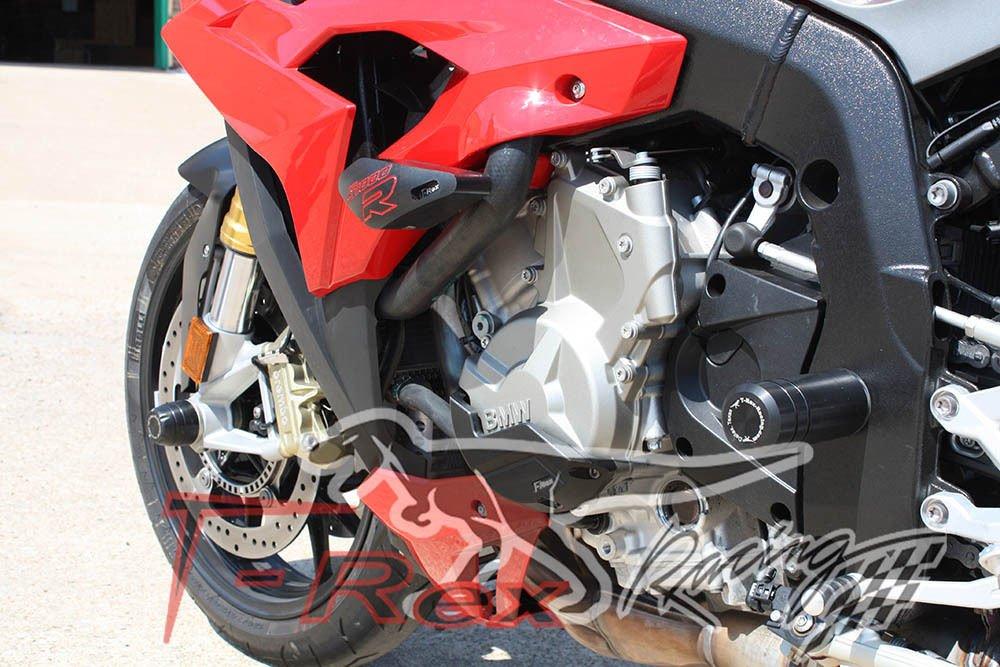 Black 2014-On T-Rex Racing BMW S1000R Frame Slider Protectors
