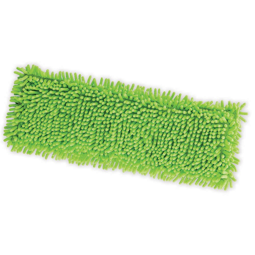 Libman Commercial 196 Microfiber Dust Mop Refill, Microfiber, 6.5'' x 18.5'', Yellow (Pack of 6)