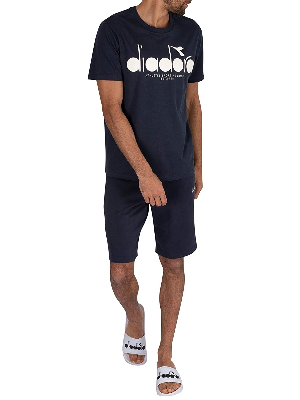 Diadora Uomo Maglietta 5Palle, Blu, M: Amazon.it: Abbigliamento