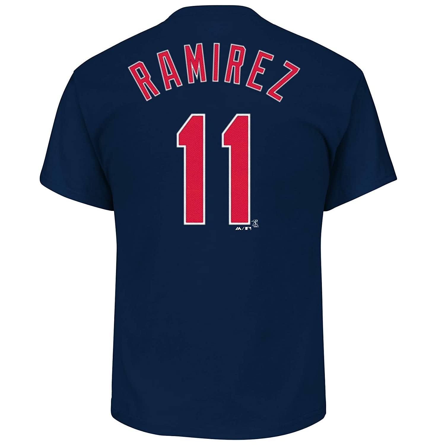 buy popular c495a 1841a Outerstuff Jose Ramirez Cleveland Indians #11 Youth Player Name & Number  T-Shirt Navy