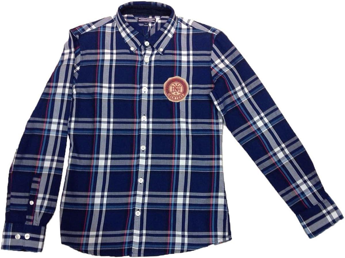 Tommy Hilfiger - Camisa, niños: Amazon.es: Ropa y accesorios
