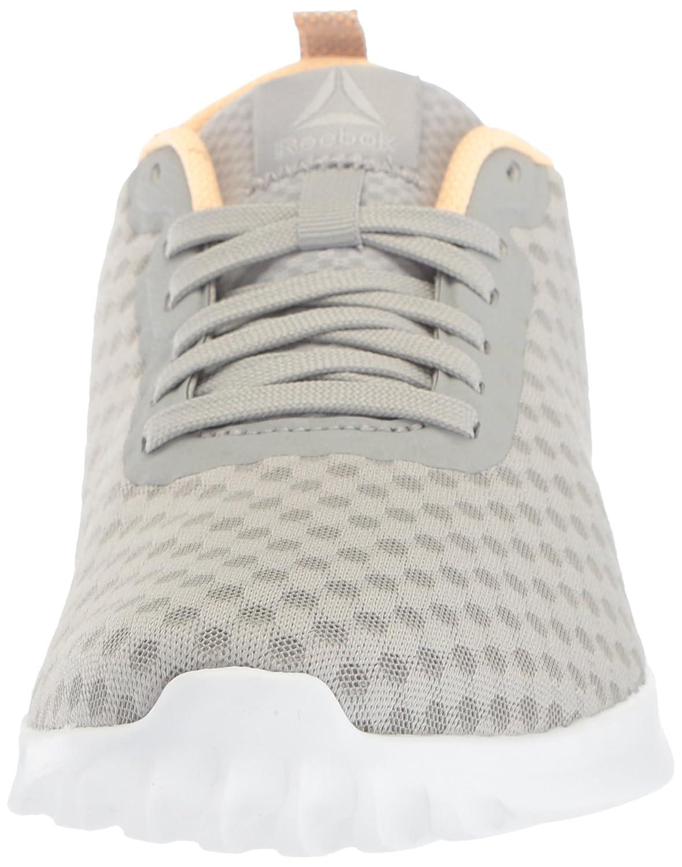 Reebok Women's Astroride Soul Sneaker B073WSS72B 7 B(M) US Stark Grey/Desert Glow/White