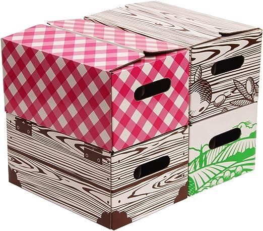 Amazon.com: Quart Cajas de almacenamiento Jar by Victorio ...