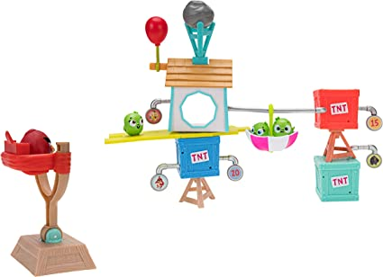 Angry Birds Build N Launch Playset: Pig City
