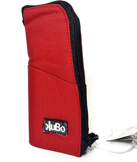 Estuche Kubo portacolori Vertical Rojo Tombolino Escuela Puerta colores New: Amazon.es: Oficina y papelería