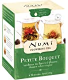 Numi Organic Tea Petite Bouquet, 4 Count Box of Flowering Tea Blossoms (Packaging May Vary)