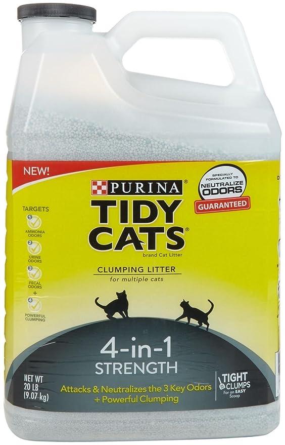 TIDY CATS Arena para Gatos 4 en 1 20 Libras: Amazon.es: Productos para mascotas