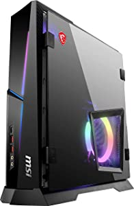 MSI MPG Trident AS 10SC-1208US SFF Gaming Desktop, Intel Core i7-10700F, GeForce RTX 2060 Super, 16GB Memory, 1TB SSD, WiFi 6, USB Type-C, Windows 10 Home, Black