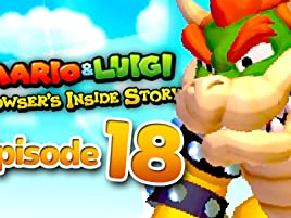Amazon Com Clip Mario Luigi Bowser S Inside Story