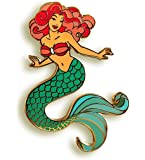 Pinsanity Mermaid Enamel Lapel Pin