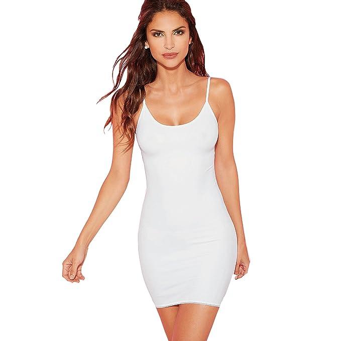 Combinación invisible bajo la ropa mujer by VencaStyle - 175026,BLANCO,L