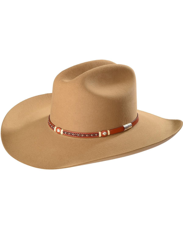 Stetson Men's Light Monterey T Felt Hat Lt Brown 7 1/4